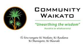 This is the Community of Waikato logo