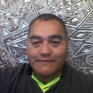 A member of our team - George Hawera.