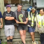 An image of the Te Whangai Trust 'Team of the Week' award.