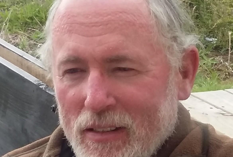 A member of our team - Geoff Wickham.